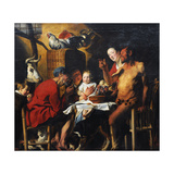 Jacob Jordaens Giclee Print by Jacob Jordaens