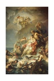 Allegory of Fisher Giclee Print by Gabriel Francois Doyen