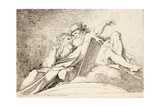 Two Prophets Impression giclée par Jean-Honoré Fragonard