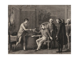 The Signing of the Concordat Between France and the Holy See on 15th July 1801 Giclee Print by Francois Gerard