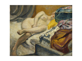 Reclining Nude; Nu Couche Giclee Print by Henri Lebasque