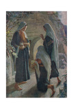 Woman at the Sepulchre Giclee Print by Harold Copping