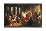 The Judgment of Solomon Giclee Print by Francesco Podesti