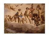 Marriage of Bacchus and Ariadne Giclee Print by Jean Boulanger