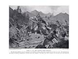 Basil II, at Battle Near Setania 1017 AD Giclee Print by John Harris Valda