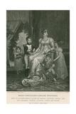 Marie-Annunciade-Caroline Bonaparte Giclee Print by Francois Gerard
