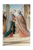 Visitation, 1867 Giclee Print by Friedrich Overbeck