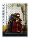 Markos Botsaris, 1874 Giclee Print by Jean Leon Gerome