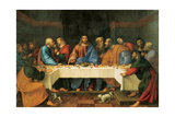 Supper in the House Of Giclee Print by Girolamo Romanino