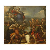 The Assumption of the Virgin, 1623 Giclee Print by  Guercino