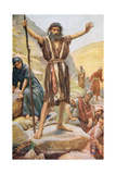 John the Baptist Giclee Print by Harold Copping