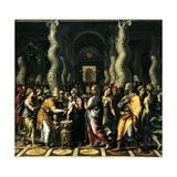 Circumcision, 1521-1522 Giclée-tryk af Romano, Giulio