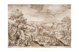 Autumn, 1608 Giclee Print by Hans Bol