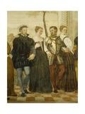 Invitation to Dance Giclee Print by Giovanni Antonio Fasolo
