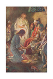 A Lesson in Humility Giclee Print by Harold Copping