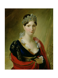 Portrait of Elisa Baciocchi Giclee Print by Joseph Franque