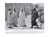 The Rabshakeh before the Walls of Jerusalem 701 BC Giclee Print by Jose Villegas Y Cordero