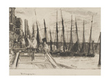Billingsgate, 1859 Giclee Print by James Abbott McNeill Whistler