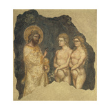 Adam and Eve before Eternal Giclee Print by  Guariento