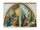 Marriage and Presentation of the Virgin Mary at the Temple, 1857-1860 Giclee Print by Francesco Coghetti