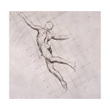 Nude in Action Giclee Print by John Singer Sargent
