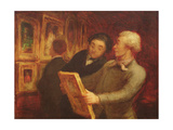 The Amateur Painter Giclee Print by Honore Daumier