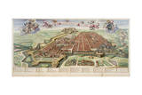 Map of Turin, 1682 Giclee Print by Joan Blaeu