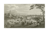 Dublin from Phoenix Park Giclee Print by George Petrie