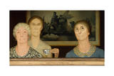 Daughters of Revolution, 1932 Giclee Print by Grant Wood