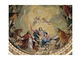 Virgin and Child with Saints, 1768 Giclee Print by Giacomo Zampa