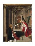 Annunciation Giclee Print by Josse Lieferinxe