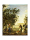 Apple Harvest Giclee Print by Jean-François Millet
