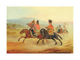 Chilean Riders, C.1835-36 Giclee Print by Johann Moritz Rugendas