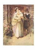 The Young Lady Stood Fuuly Revealed Giclee Print by Hugh Thomson