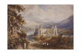 Tintern Abbey, C.1840 Giclee Print by Henry Gastineau