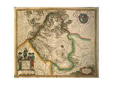 Province of Vicenza from Theatrum Civitatum Et Admirandorum Italiae Giclee Print by Joan Blaeu