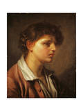 Portrait of a Young Man Giclee Print by Jean-Baptiste Greuze