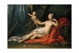 Venus and Cupid Giclée-tryk af Jacopo Amigoni