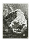 La Fin De Satan, 19th Century Giclee Print by Jean Paul Laurens