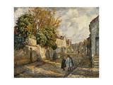 Street Scene, Lagny; Scene De Rue, Lagny Giclee Print by Henri Lebasque