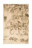 Turkeys, 1879-80 Giclee Print by James Abbott McNeill Whistler