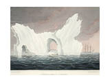 A Remarkable Iceberg, July 1818, Illustration from 'A Voyage of Discovery...', 1819 Giclee Print by John Ross