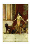 Delilah and the Philistines Giclee Print by Jean Joseph Benjamin Constant