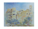 Kitchen Garden, Sana'A, North Yemen, 1975 Giclee Print by James Reeve