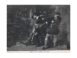 The Arrest of Guy Fawkes 1605 Giclee Print by Gordon Frederick Browne