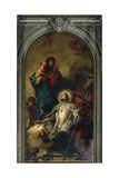 The Virgin Appearing to Saint John of Nepomuk, 1754 Giclee Print by Giambattista Tiepolo