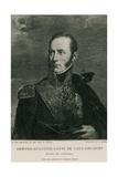Armand-Augustin-Louis De Caulaincourt Giclee Print by Francois Gerard