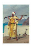 The Watchful Guard Giclee Print by Jean Joseph Benjamin Constant