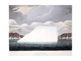 Petowacx, Formation of an Iceberg, Illustration from 'A Voyage of Discovery...', 1819 Giclee Print by John Ross