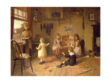 Too Old to Play Giclee Print by Harry Brooker